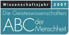 [Logo: Wissenschaftsjahr 2007]