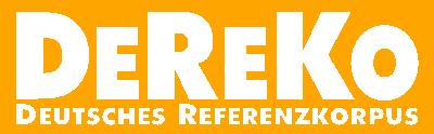 [Logo: DeReKo]